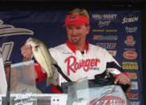 Jimmy Reese of Witter Springs, Calif., caught one fish worth 1 pound, 13 ounces and dropped to finish in fifth place with a final total weight of 11-10.