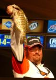 Dan Morehead of Paducah, Ky., bounced back after a two-fish showing Friday by catching the second - and heaviest - limit Saturday. His five bass weighing 13 pounds, 4 ounces pushed his final total to 16-9, good for fifth place.