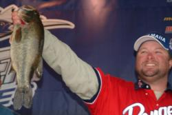 Pro Mike Tuck of Antelope, Calif., finished the Clear Lake event in second place.