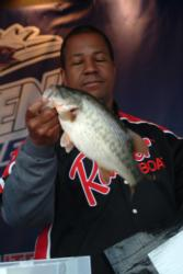 Pro Todd Woods of Murrieta, Calif., finished the Clear Lake event in third place, earning a check for $9,000.