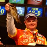 Mark Rose of Marion, Ark., caught a limit weighing 8 pounds, 9 ounces and finished second with a two-day weight of 18-2.