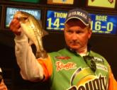 Craig Powers of Rockwood, Tenn., caught a 7-pound, 7-ounce limit Saturday and finished third with a two-day weight of 17-3.