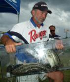 Pro Tony Couch of Buckhead, Ga., finished fifth with a two-day total 25 pounds, 10 ounces.
