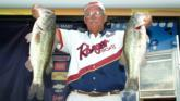 Pro Ken Ellis of Bowman, S.C.,  finished second with a two-day total of 37 pounds, 1 ounce.