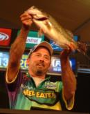 Curt Lytle of Zuni, Va., caught 13 pounds, 11 ounces Saturday and finished the week in fifth place with a weight of 27-8.