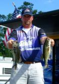 Pro Michael Lowery moved up to third after catching a five-bass limit weighing 12 pounds, 14 ounces. For his third-place finish, Lowery earned $8,750.