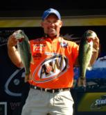 After finishing in second place at the Lake Texoma event, Chris McCall again takes second, this time at the Sam Rayburn Reservoir.