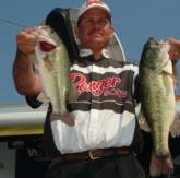 Todd Auten of Lake Wylie, S.C., finished third with a three-day total of 27 pounds, 5 ounces.
