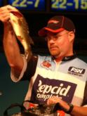 In fourth place with 27 pounds, 9 ounces over three days was Mark Mauldin of Cleveland, Tenn.