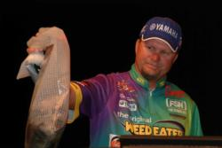 Though Wesley Strader mounted a comeback, Ray Scheide still won the bracket by nearly 4 pounds with his 23-pound, 15-ounce two-day weight.
