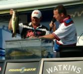 Pro Bill Walker earned $8,600 for his second place finish on the Mississippi River.