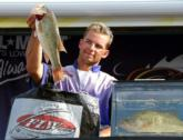 David Butenewicz Jr. of Monroeville, N.J., caught a limit worth 12 pounds, 10 ounces Saturday and finished in fourth place for the pros with a final total of 25-14.