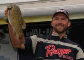 Bryan Coates came close but settled for second with a two-day total of 38 pounds, 3 ounces.