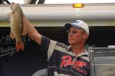 Opening-round leader Dick Shaffer took third place with 37 pounds, 3 ounces of bass over the final two days.
