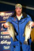 Pro Mark Shepard of Labelle, Fla., is tied for fourth with 14-5.