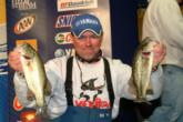 Pro Dave Lefebre of Union City, Pa., is in fourth place with 23-1.