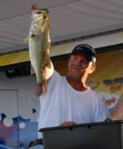 Pro Matthew Parker of Whitesburg, Ga., finished third with a four-day total of 55 pounds, 4 ounces.
