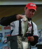 Jim Guzman scored his first top-10 finish with a third-place showing on Sam Rayburn.