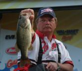In eighth place on the pro side is Tommy Durham with 50 pounds, 3 ounces.