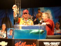 In his first FLW Tour event, Craig Dowling placed third and won $40,000.