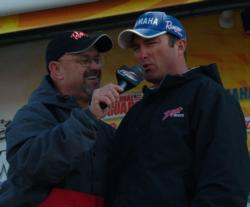 Oklahoma angler Jerry Weisinger rebounded on day four and finished third in the Pro Division.