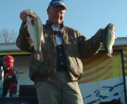 Marion, Ark., pro Mark Rose caught the heaviest limit of the day and finished the tournament in second place.