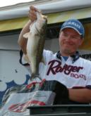 Dan Schoonveld ended the tournament in second place, just 1 pound, 2 ounces behind the leader.