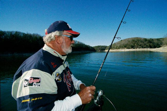 Bass-fishing legend Guido Hibdon has long been a fan of hair jis for many bass-fishing applications.