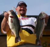 Pro Jim Davis of San Jose, Calif., caught a 26-5 limit Saturday and earned third place with a four-day weight of 94-14.