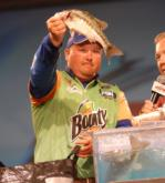 Bounty pro Jacob Powroznik of Prince George, Va., finished fourth with a two-day total of 14 pounds, 1 ounce for $40,000.