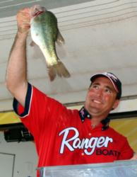 Pro Gene Brown of West Point, Miss., finished as runner-up in the Stren Central event on Columbus Pool with a total of 20 bass for 42-10, worth $7,462.