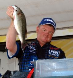 Pro Mark Rose of Marion, Ark., finished fourth.