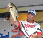 Finishing up in the third place position was pro Mark Allen of Kemp, Texas, with a four-day total of 64 pounds, 12 ounces worth $7274.