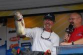 Pro Harold Allen of Shelbyville, Texas, finished second with a four-day total of 67 pounds, 8 ounces and collected $8,082 for his finish.