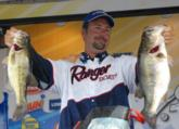 Russell Cecil hauled in day four's heaviest catch - 19-15 - for the win.