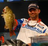 All week B.F. Goodrich pro Kevin Long of Berkley, Mich., kept climbing up through the standings finishing in the runner-up spot with a two-day total of 39 pounds, 7 ounces worth $75,000.