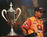 Anthony Gagliardi has his sights set on the 2008 Forrest Wood Cup, as it will be awarded on Gagliardi