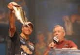 2007 Gain Rookie of the Year Bryan Thrift of Shelby, N.C., finished in fifth place with a two-day total of 9 pounds, 12 ounces for $50,000.