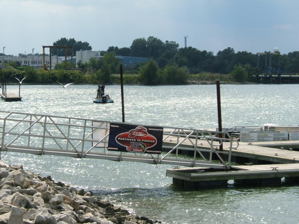 Severson scores tbf northern divisional victory flw for Sandusky bay fishing