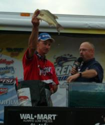 Eldon, Mo., pro Roger Fitzpatrick finished the Lake of the Ozarks event in fourth place.