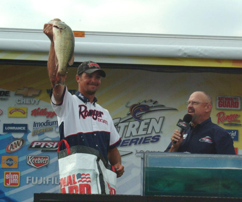 Christie owns the ozarks flw fishing articles for Jason christie fishing