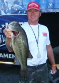 Danny Shanz caught 10 pounds, 11 ounces on the final day to emerge as the winner from the Washington, D.C., team.