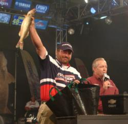 Hager City, Wis., pro Scott Fairbairn earned $75,000 for his second-place finish at the 2007 FLW Walleye Tour Championship.