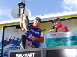Local pro Ryan Lovelace bagged a limit in the final round and finished fourth.