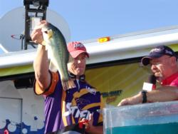 Covering water and relying on local knowledge led Keith Combs to a fourth-place finish.