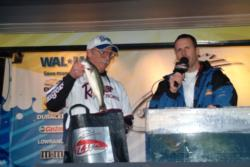 Pro Jim Riley of Shasta Lake, Calif., took fourth place at the Lake Shasta Stren Series event.