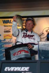 Pro Bill Townsend of Redding, Calif., used a four-day catch of 38 pounds, 12 ounces to win fifth place.