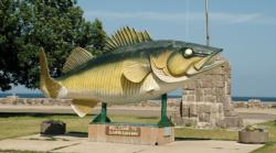 Mille Lacs in Minnesota is all about the walleye fishing.