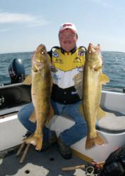 Lake Oahe provides endless walleye-habitat opportunities for anglers.