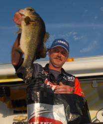 2007 Stren Series Championship winner Mike Jackson of San Mateo, Fla., finished runner up at Seminole with a four-day total of 39 pounds, 10 ounces worth $9,481.